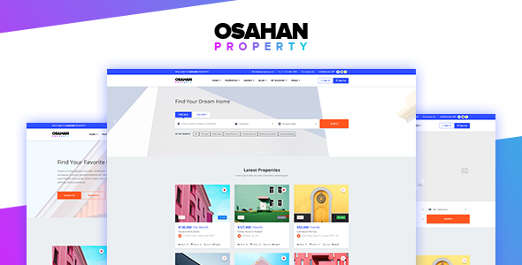 Osahan Property - Bootstrap 4 Light Real Estate Theme - Corporate Site Templates