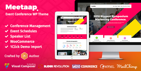 Meetaap – Event & Conference WordPress Theme