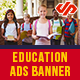 Education Ads Banners - AR