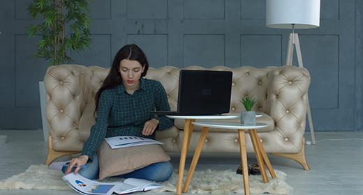 Freelance Woman