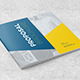 Stylish Square Brochure Proposal - GraphicRiver Item for Sale