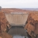 A Big Concrete Hoover Dam Among The Rocks Of The Canyon On Colorado River - VideoHive Item for Sale