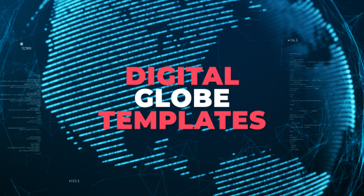 Digital Globe & Planets Templates