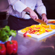 Chef cutting fresh and delicious vegetables - PhotoDune Item for Sale