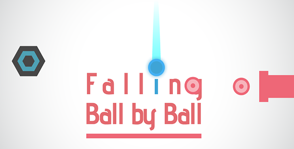 Buildbox Game - Falling Ball Addictive Game + Eclipse Project + Android Studio + Xcode - CodeCanyon Item for Sale
