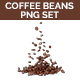 Coffee Beans PNG Set - GraphicRiver Item for Sale