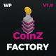 CoinzFactory - Cryptocurrency WordPress Theme - ThemeForest Item for Sale