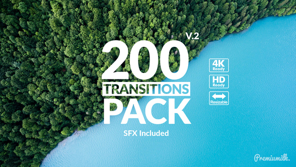 Videohive Transitions Pack 21721120 - Free download