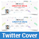 Creative Twitter Cover - GraphicRiver Item for Sale