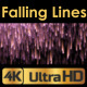 Falling Lines Background - VideoHive Item for Sale