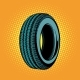 Car Tire One - GraphicRiver Item for Sale