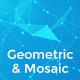 Geometric & Mosaic Backgrounds - GraphicRiver Item for Sale