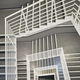 Looking down at a modern staircase. - PhotoDune Item for Sale