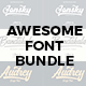 Awesome Font Bundle - GraphicRiver Item for Sale