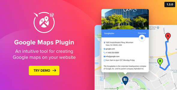 WP Google Maps - Map Plugin for WordPress - CodeCanyon Item for Sale