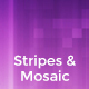 Soft Stripes & Mosaic Backgrounds - GraphicRiver Item for Sale