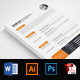 Job Resume CV Word Template - GraphicRiver Item for Sale