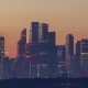 Moscow City Business Center at Sunrise. Russia - VideoHive Item for Sale