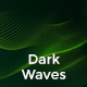 Abstract Dark Waves Backgrounds - GraphicRiver Item for Sale