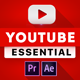 Youtube Essential Library | MOGRT for Premiere - VideoHive Item for Sale