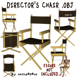 Director's Chair 3D Object - 3DOcean Item for Sale