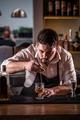 Bartender is stirring cocktail - PhotoDune Item for Sale