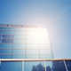 Sun reflected in a modern office building. - PhotoDune Item for Sale