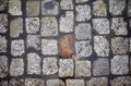 Cobblestone street from above. - PhotoDune Item for Sale