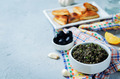 Black Olive Tapenade with roasted pita - PhotoDune Item for Sale