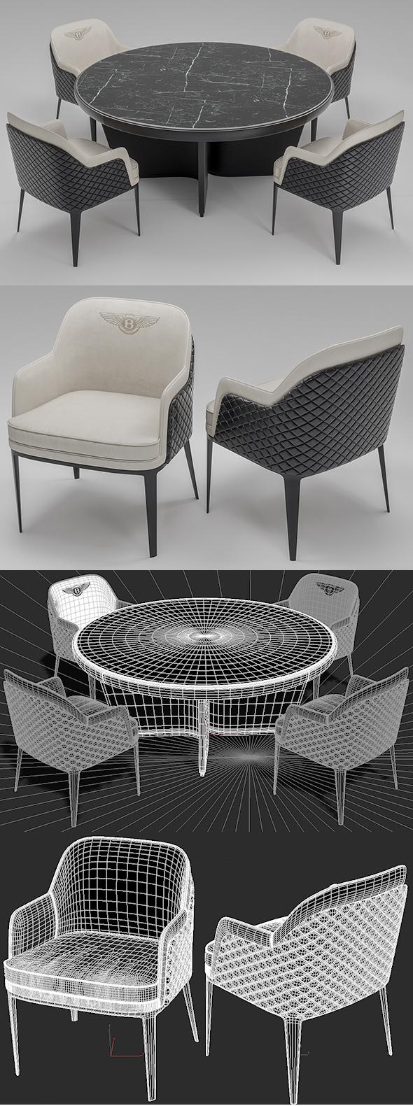 Bentley Home Furniture - 3DOcean Item for Sale