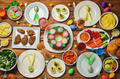 Spring Easter main dish table setting - PhotoDune Item for Sale
