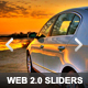 Web 2.0 Sliders - GraphicRiver Item for Sale