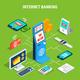 Internet Banking Isometric Flowchart