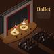 Indoor Theatre Ballet Background