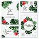 Realistic House Plant Wedding Cards - GraphicRiver Item for Sale