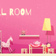 Girl Room Cartoon Illustration