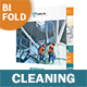Cleaning Service Bifold / Halffold Brochure - GraphicRiver Item for Sale