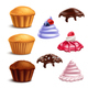 Muffin Essential Elements Set - GraphicRiver Item for Sale