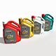 Castrol GTX Engine Oil Jar - 3DOcean Item for Sale