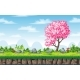 Seamless Nature Spring Background - GraphicRiver Item for Sale