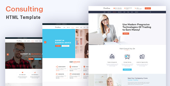 Image of Consulting - Finance and Business HTML5 Template