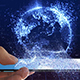 Globe on Mobile - VideoHive Item for Sale