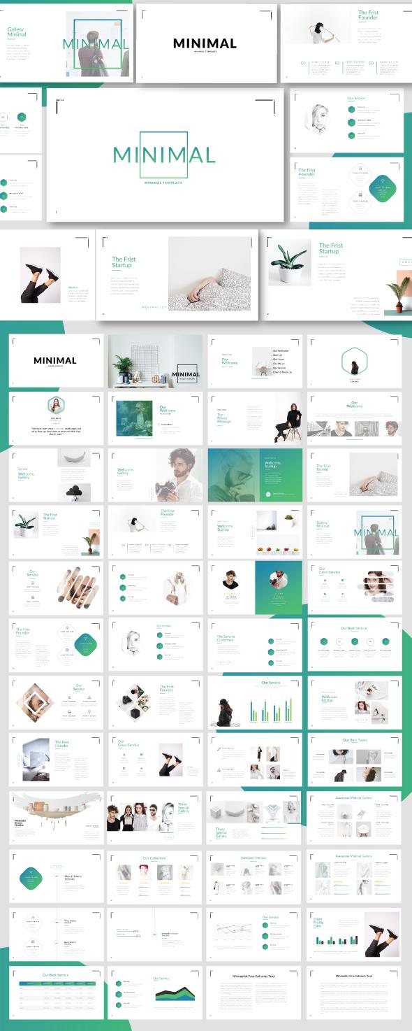Minimal Minimalist Template - Business PowerPoint Templates