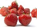 Two fresh ripe red strawberries - PhotoDune Item for Sale