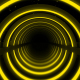 Yellow Neon Lights Infinity Tunnel - VideoHive Item for Sale