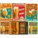 Set of Beer Posters