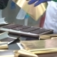 Golden Paper Wrapped Chocolate Bars. Process of Packaging Chocolate in Factory - VideoHive Item for Sale