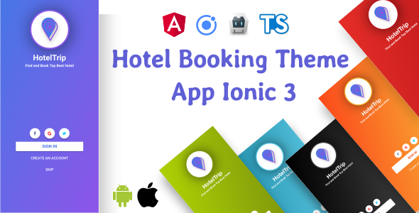 Hotel Booking Theme App Supports i18n            Nulled
