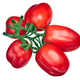 Scatolone plum tomatoes cluster, top - PhotoDune Item for Sale