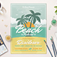Summer Beach Festival Flyer - GraphicRiver Item for Sale